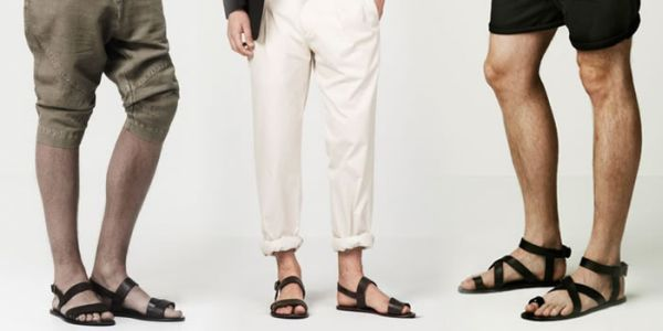 Creative Men39s Sandals With Suits Outfit Inspiration Lookbook