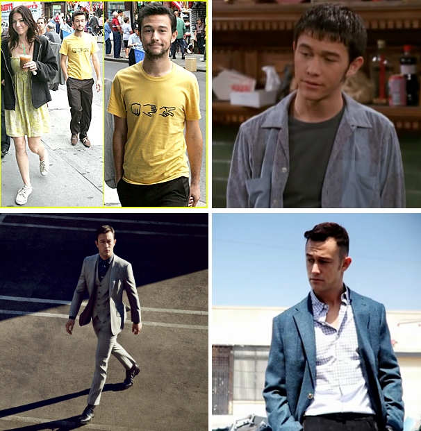 Joseph Gordon-Levitt: from weird looking to suave.