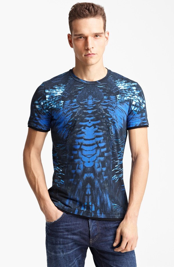 "An ugly ""Just Cavalli"" $300 T-shirt. Surely you must be joking."