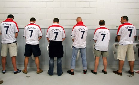 Few things are more emasculating than wearing another man's name on your back.