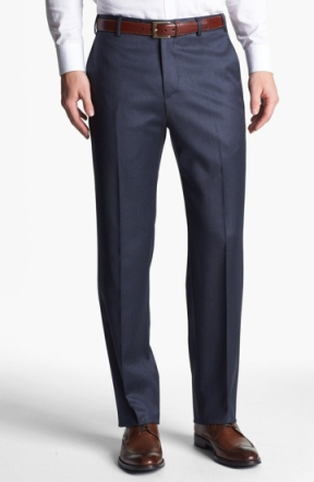 Flat fronts look so much cleaner (image from Nordstrom).