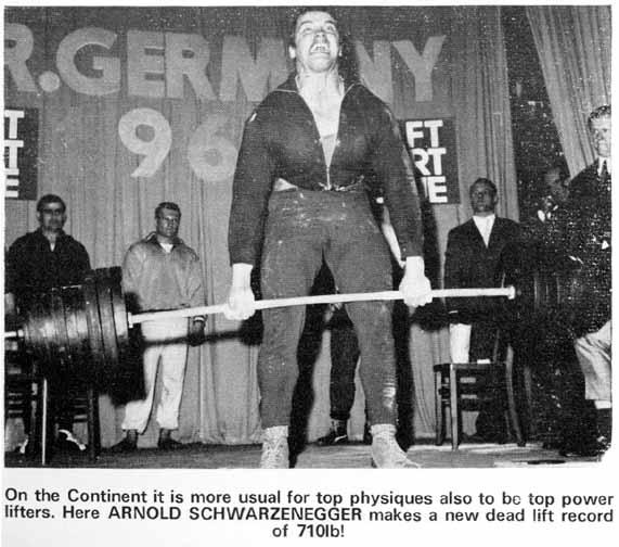 The deadlift: a real man's exercise.