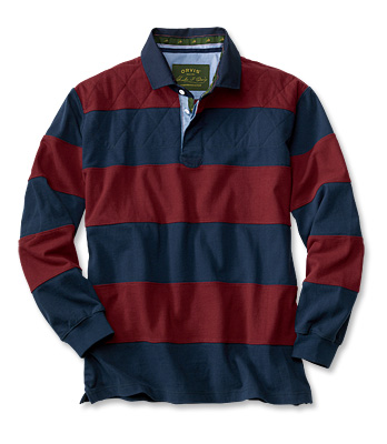 A beautiful rugby jersey from Orvis.