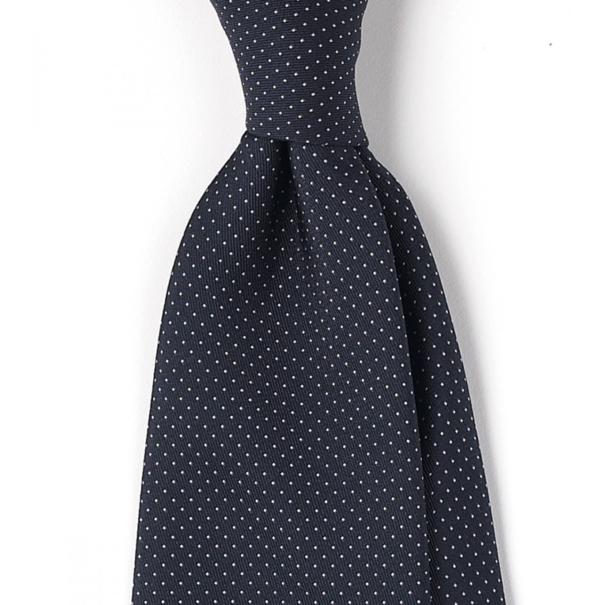 A gorgeous pin dot tie.