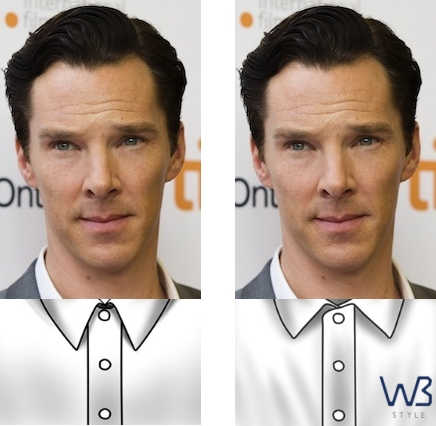 benedict cumberbatch collar comparisions