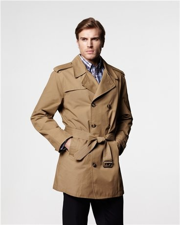 The classic trench coat.