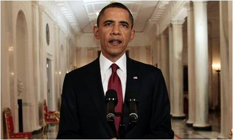 Obama Red Tie