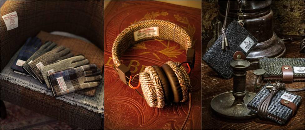 tweed headphones
