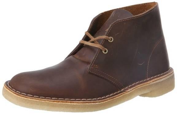 Clark's beeswax desert boots