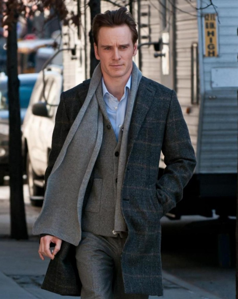 michael fassbender simple drape scarf
