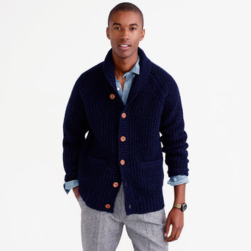 shawl-collar-donegal-wool-cardigan