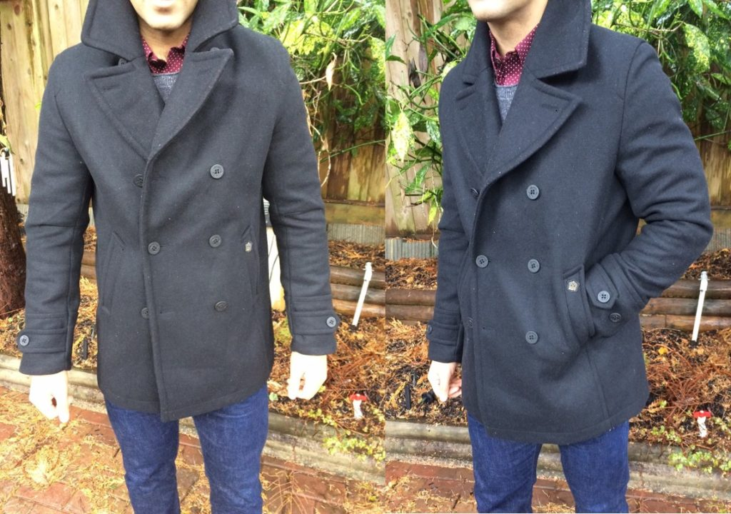 buy best exceptional range of styles and colors select for best Product Review – Merc Doyle Pea Coat – Well Built Style