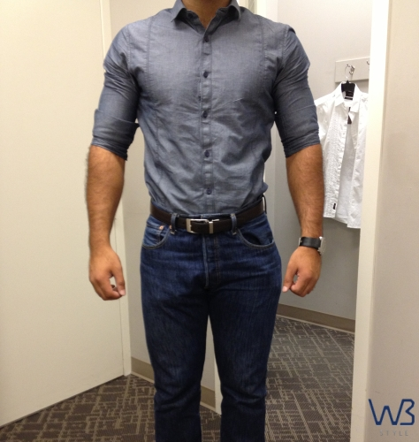 Tailoring for the well built man well built style for How much to get a shirt tailored